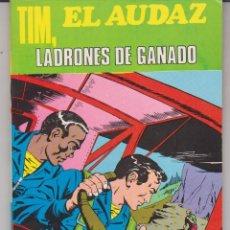 Tebeos: COLECCION COMPLETA 6 TOMOS TIM EL AUDAZ EDITORIAL EUREDIT. Lote 229512275
