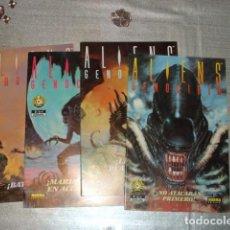 Livros de Banda Desenhada: ALIENS: GENOCIDIO, 1993, COMPLETA, 4 NÚMEROS, NORMA, MUY BUEN ESTADO. Lote 230088625