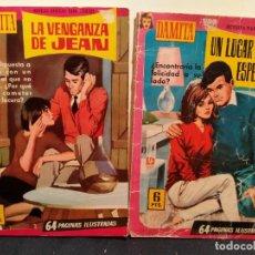 Tebeos: COLECCIÓN MAMITA 1958 LA VENGANZA DE JEAN Y UN LUGAR PARA LA ESPERANZA. . LB 31. Lote 230722100