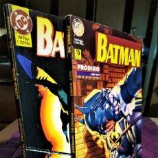 Tebeos: BATMAN: PRÓDIGIO - COMPLETA (LIBRO 1 (1995) Y LIBRO 2 (1996)) - ZINCO - MUY BUEN ESTADO. Lote 230747185