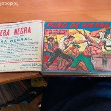 Tebeos: PUÑO DE HIERRO +BLEK EL GIGANTE 2ª SERIE COMPLETAS ORIGINAL . VER DESCRIPCIÓN (COIB167). Lote 230907340