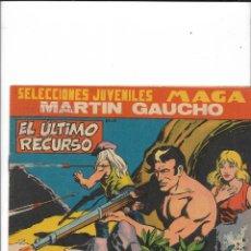 Tebeos: MARTIN GAUCHO AÑO 1964 COLECCIÓN COMPLETA SON 50 TEBEOS ORIGINALES Y DIFICILES DE COMPLETAR. Lote 231212035