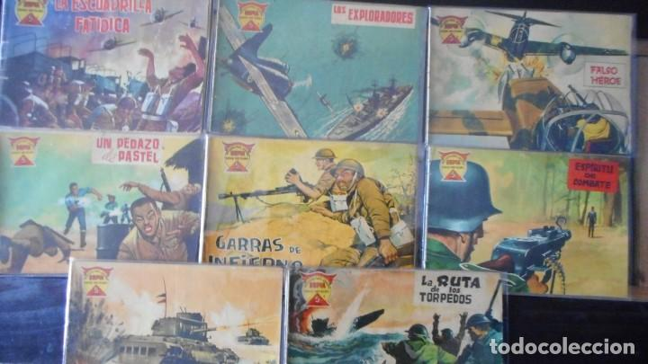 Tebeos: LOTE DE 8 NÚMEROS ESPÍA - Foto 4 - 231630680