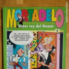 Tebeos: MORTADELO (SUPER REY DEL HUMOR Nº 6). Lote 231713595