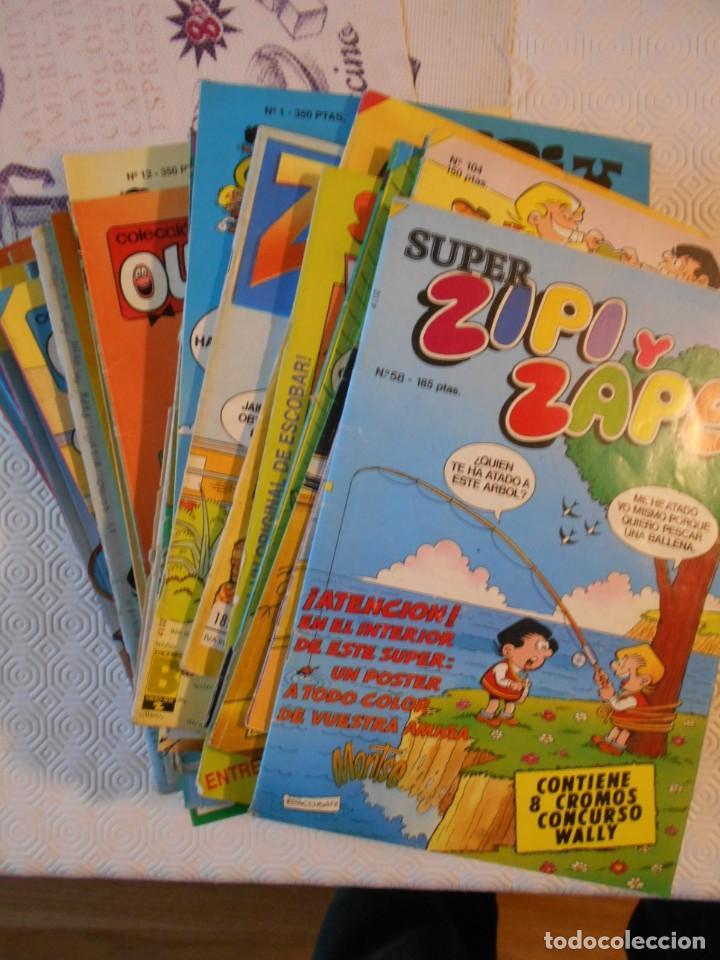 ZIPI Y ZAPE. ESCOBAR. LOTE DE 27 TEBEOS. SUPER ZIPI Y ZAPE / COLECCION OLE. 3110 GRAMOS (Tebeos y Comics - Tebeos Pequeños Lotes de Conjunto)