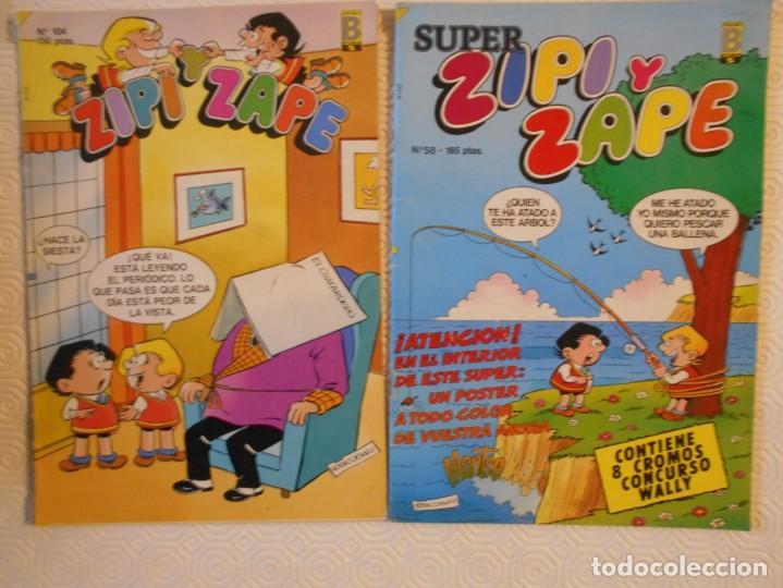 Tebeos: ZIPI Y ZAPE. ESCOBAR. LOTE DE 27 TEBEOS. SUPER ZIPI Y ZAPE / COLECCION OLE. 3110 GRAMOS - Foto 2 - 232117715