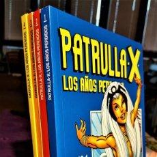 Tebeos: DE TIENDA - LA PATRULLA X: LOS AÑOS PERDIDOS DE JHON BYRNE - COMPLETA EN 4 TOMOS - FORUM(1999). Lote 232692825