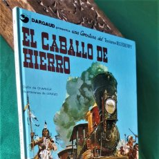 Tebeos: TENIENTE BLUEBERRY, Nº 3: EL CABALLO DE HIERRO - GRIJALBO/DRAGAUD - EXCELENTE. Lote 232921890