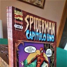 Tebeos: SPIDERMAN CAPÍTULO UNO: EL ORIGEN DE SPIDERMAN DE JOHN BYRNE (3 TOMOS: 128-96 Y 112 PG) -FORUM(1999). Lote 232924231