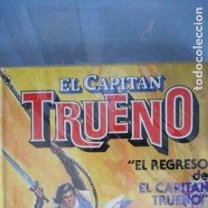 Tebeos: EL CAPITÁN TRUENO ( 2 TOMOS) VER INTERIOR. Lote 233532190