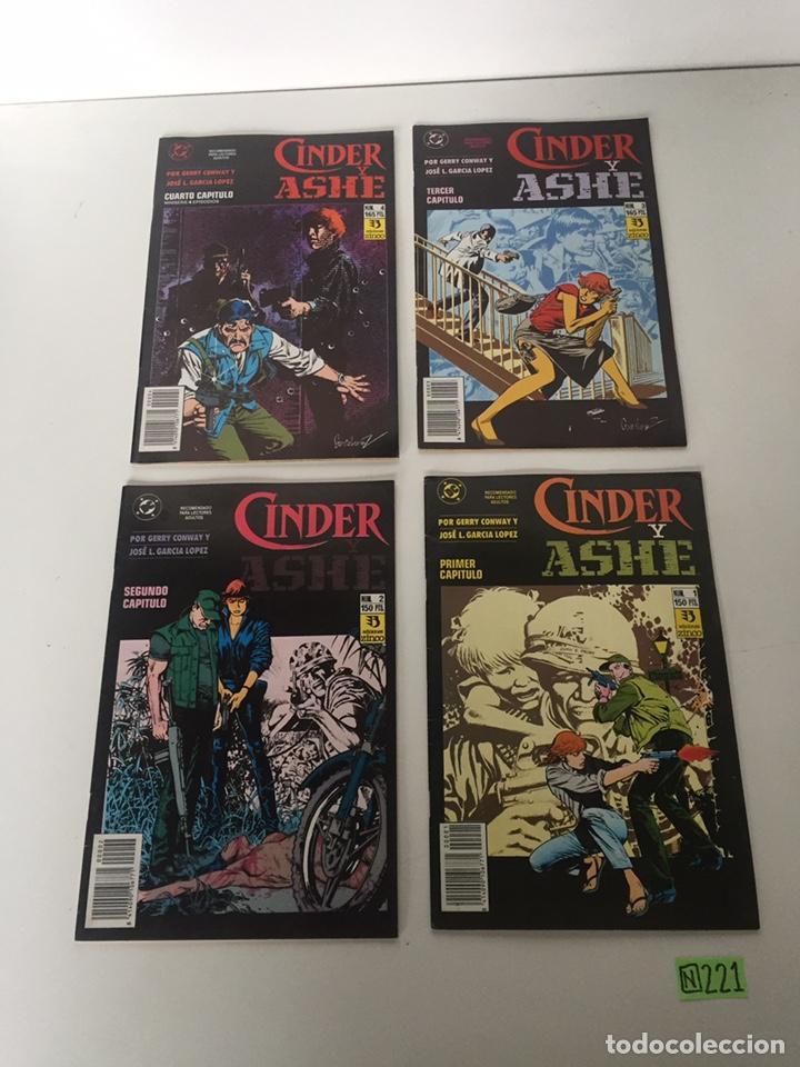 CINDER AND ASHE COMPLETA (Tebeos y Comics - Tebeos Colecciones y Lotes Avanzados)