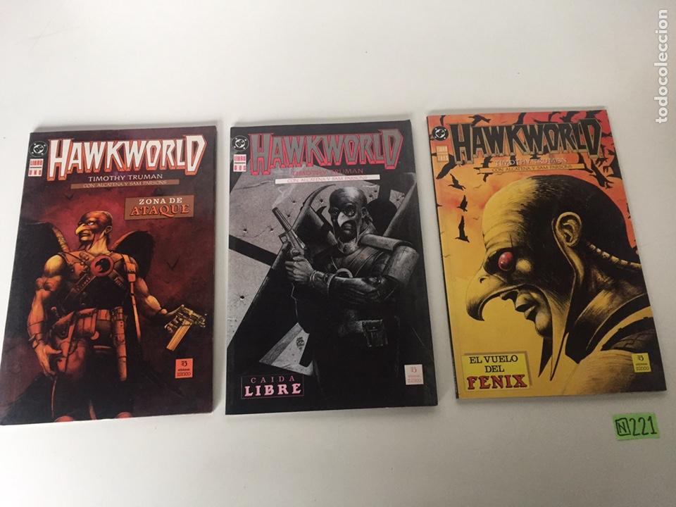 HAWKWORLD COMPLETA (Tebeos y Comics - Tebeos Colecciones y Lotes Avanzados)