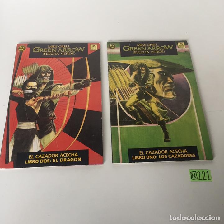 GREEN ARROW LONGBOW HUNTERS (Tebeos y Comics - Tebeos Colecciones y Lotes Avanzados)