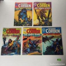 Tebeos: RICHARD CORBEN: RIP, TIEMPO ATRÁS COMPLETA 5 TOMOS. Lote 233828335