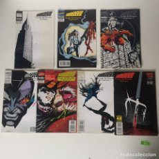 "Tebeos: DAREDEVIL 320-325 ""FALL FROM GRACE"" PARTS 1-5,FINALE COMICS BOOK. Lote 233829920"