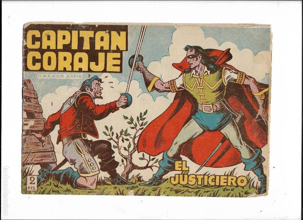 Tebeos: Capitán Coraje Año 1958 Colección Completa son 44 Tebeos Originales Dibujada por G. Iranzo - Foto 2 - 233878245