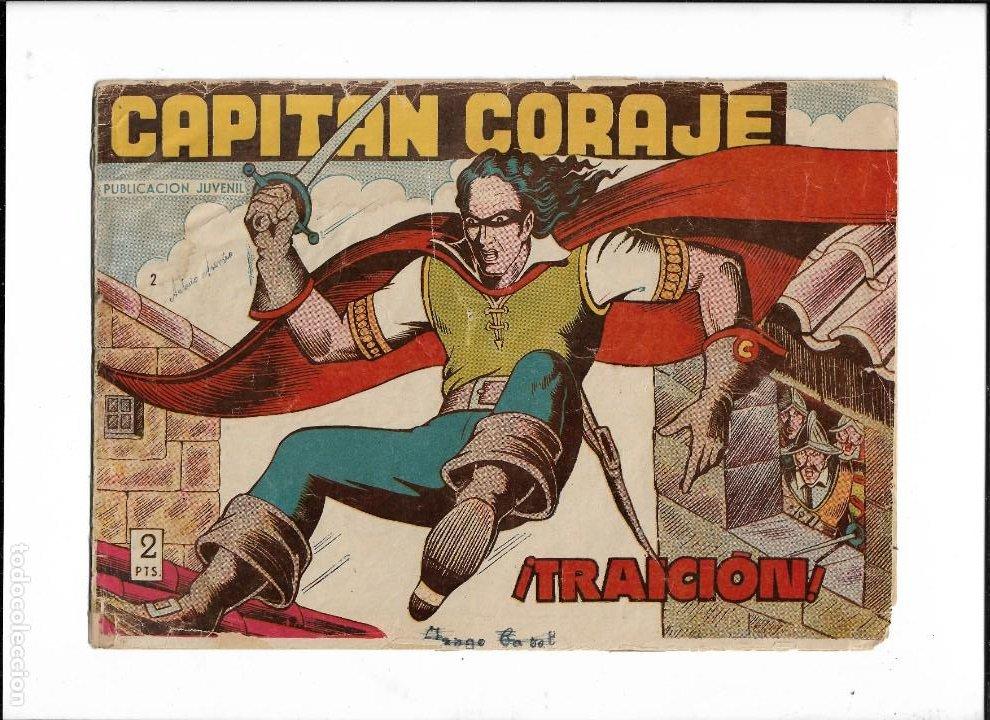 Tebeos: Capitán Coraje Año 1958 Colección Completa son 44 Tebeos Originales Dibujada por G. Iranzo - Foto 4 - 233878245