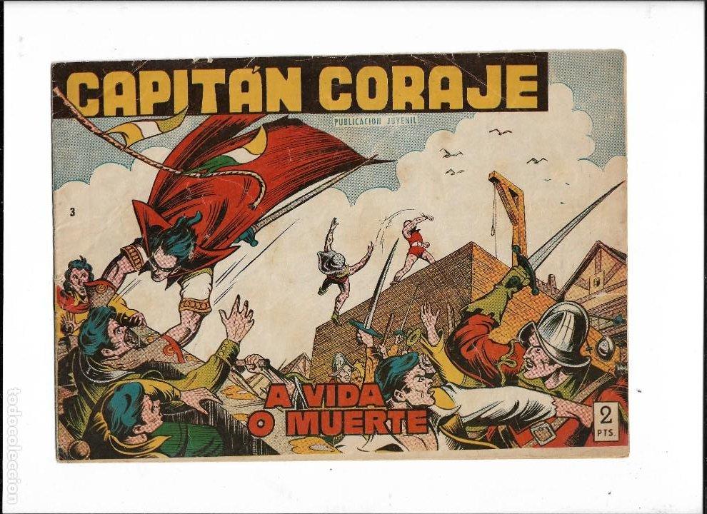 Tebeos: Capitán Coraje Año 1958 Colección Completa son 44 Tebeos Originales Dibujada por G. Iranzo - Foto 5 - 233878245
