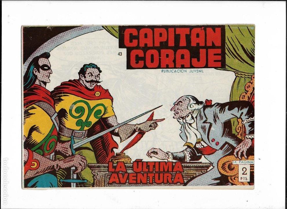 Tebeos: Capitán Coraje Año 1958 Colección Completa son 44 Tebeos Originales Dibujada por G. Iranzo - Foto 9 - 233878245