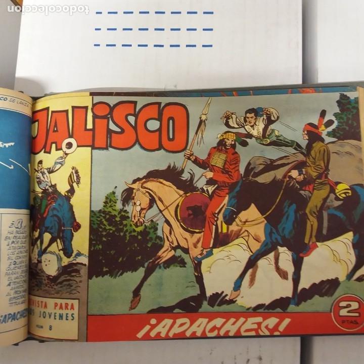 Tebeos: Jalisco original Completa 20 ejemplares Bruguera - Foto 4 - 234912090