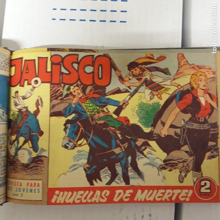 Tebeos: Jalisco original Completa 20 ejemplares Bruguera - Foto 5 - 234912090