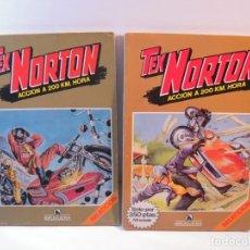Tebeos: TEX NORTON 12 Nº MUCHA PUBLICIDAD DE EPOCA MOTOS JUGUETES ETC ,CON POSTERS. Lote 235165990