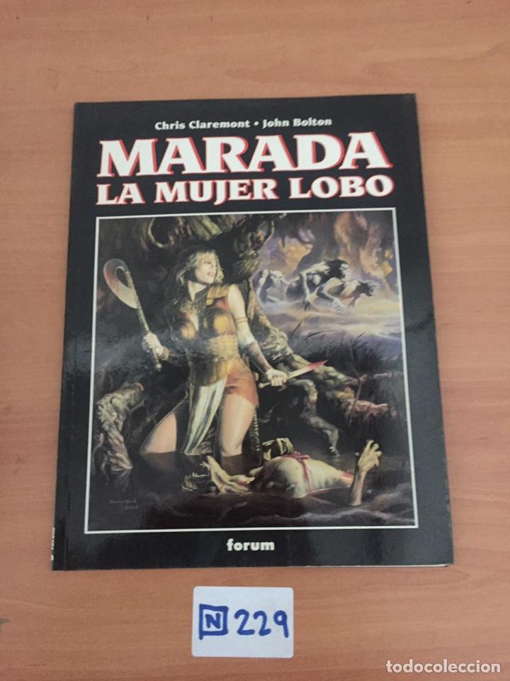 MARADA LA MUJER LOBO (Tebeos y Comics - Tebeos Colecciones y Lotes Avanzados)