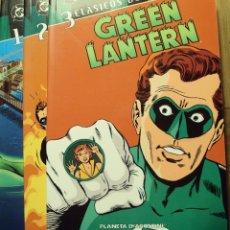 Tebeos: GREEN LANTERN - CLÁSICOS DC - NºS 1, 2 Y 3. Lote 235408135