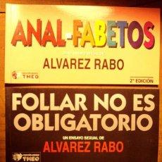 Tebeos: PACK ÁVAREZ RABO - CUATRO VOLÚMENES - TMEO EDICIONES. Lote 235412895