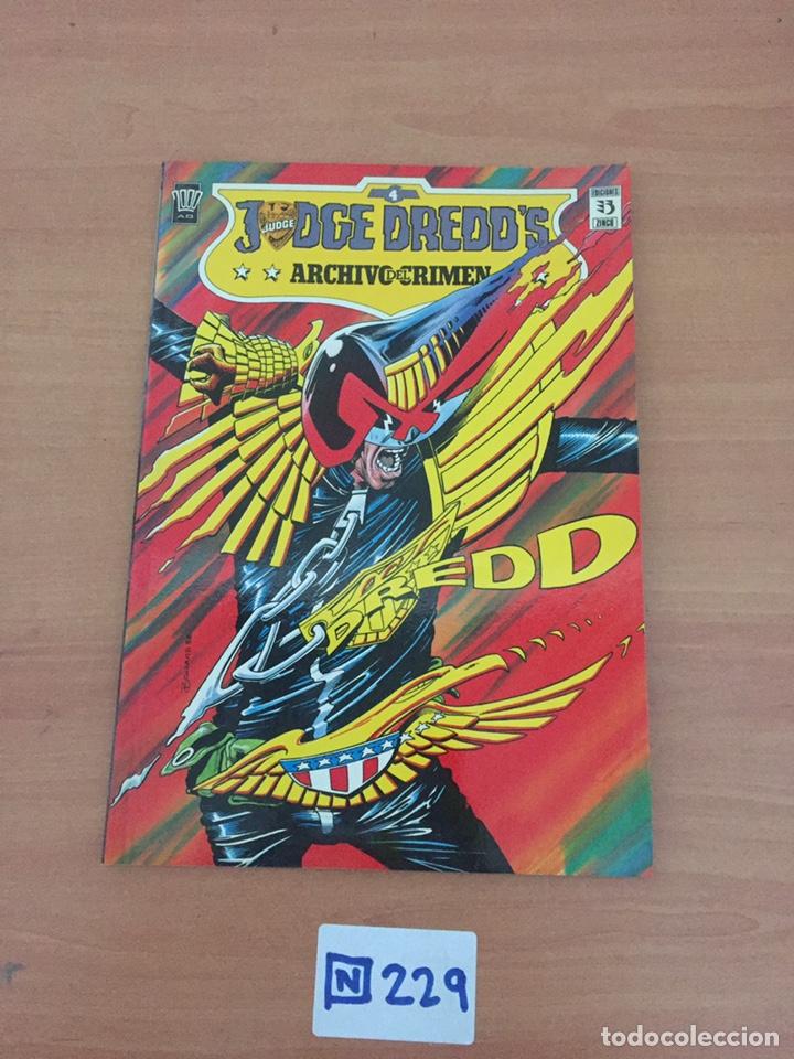 JEDGE DREDD'S ARCHIVO DEL CRIMEN (Tebeos y Comics - Tebeos Colecciones y Lotes Avanzados)
