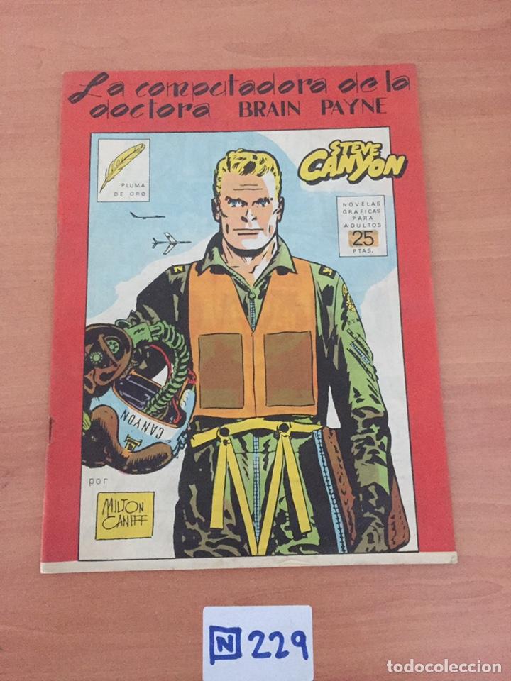 STEVE CANYON, LA COMPUTADORA DE LA DOCTORA BRAIN PAYNE (Tebeos y Comics - Tebeos Colecciones y Lotes Avanzados)