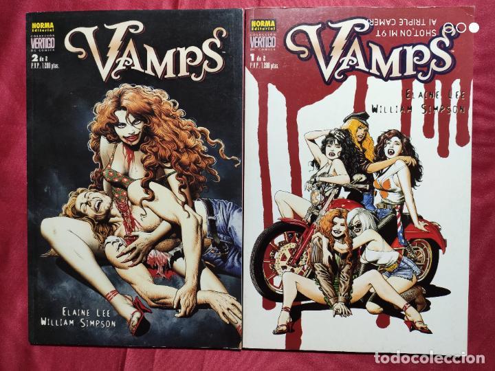 VAMPS. COMPLETA DOS TOMOS . NORMA EDITORIAL (Tebeos y Comics - Tebeos Pequeños Lotes de Conjunto)