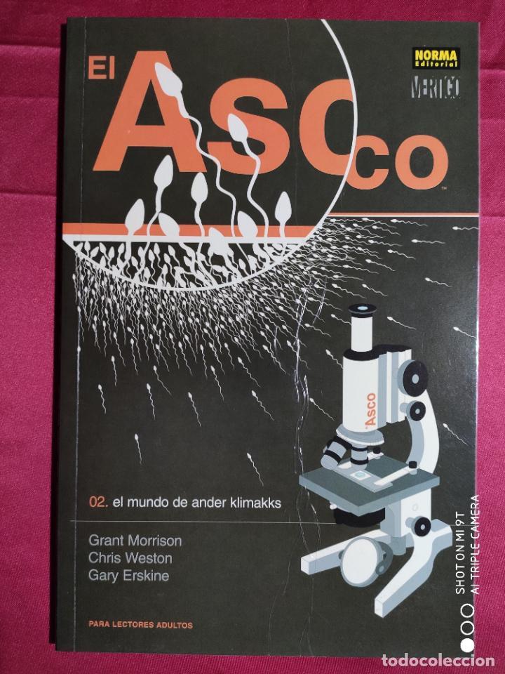 Tebeos: EL ASCO. COMPLETA TRES TOMOS . NORMA EDITORIAL - Foto 2 - 235605765