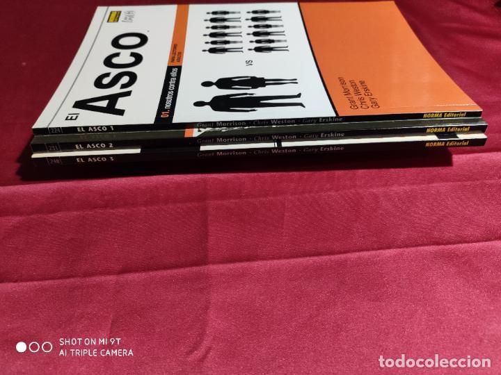 Tebeos: EL ASCO. COMPLETA TRES TOMOS . NORMA EDITORIAL - Foto 3 - 235605765