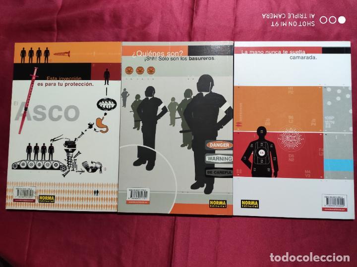 Tebeos: EL ASCO. COMPLETA TRES TOMOS . NORMA EDITORIAL - Foto 4 - 235605765