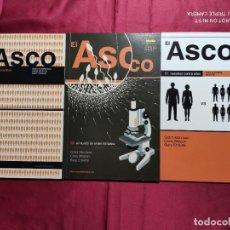 Tebeos: EL ASCO. COMPLETA TRES TOMOS . NORMA EDITORIAL. Lote 235605765