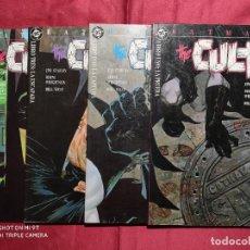 Tebeos: BATMAN THE CULT LOTE COLECCION COMPLETA 4 EJEMPLARES. ZINCO. Lote 235654985