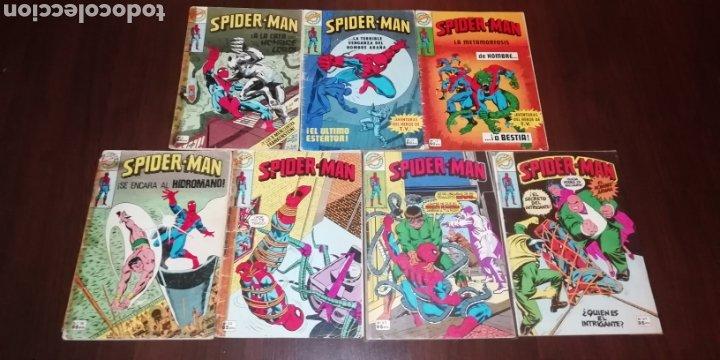 Tebeos: Lote de 7 Spiderman Bruguera. - Foto 2 - 236997115