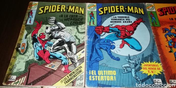 Tebeos: Lote de 7 Spiderman Bruguera. - Foto 3 - 236997115