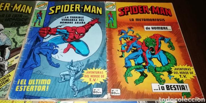 Tebeos: Lote de 7 Spiderman Bruguera. - Foto 4 - 236997115
