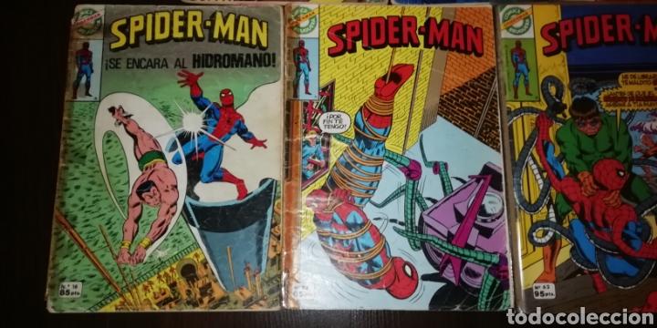 Tebeos: Lote de 7 Spiderman Bruguera. - Foto 5 - 236997115