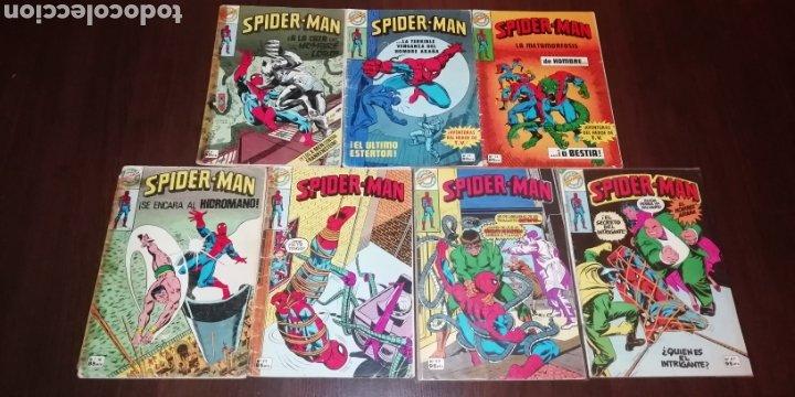 LOTE DE 7 SPIDERMAN BRUGUERA. (Tebeos y Comics - Tebeos Pequeños Lotes de Conjunto)