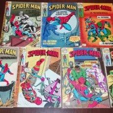 Livros de Banda Desenhada: LOTE DE 7 SPIDERMAN BRUGUERA.. Lote 236997115
