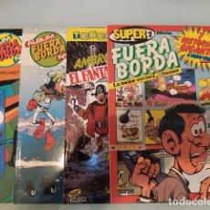 Tebeos: 4 ANTIGUOS COMICS FUERA BORDA AÑOS 80 EDITORIAL SARPE 2 ÁLBUM Nº 1 Y 2, UN TEBEOTECA Nº1 Y SUPER Nº2. Lote 237090575