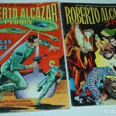 Tebeos: ROBERTO ALCAZAR COMPLETA EN SUS 2 TOMOS VALENCIANA 1975 -IMPORTANTE LEER DESCRIPCION. Lote 237554810