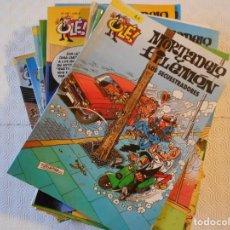 Livros de Banda Desenhada: MORTADELO Y FILEMON. COLECCION OLE. FRNCISCO IBAÑEZ. EDICIONES B. LOTE DE 20 TEBEOS. 4000 GRAMOS.. Lote 238088455