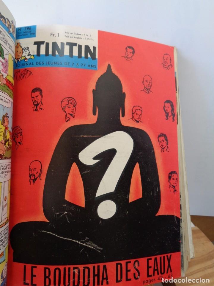 ¡¡ TINTIN, RECUEIL GEANT. LE JOURNAL DES JEUNES DE 7 A 77 ANS. 1963 -64. !! (Tebeos y Comics - Tebeos Colecciones y Lotes Avanzados)