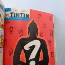 Tebeos: ¡¡ TINTIN, RECUEIL GEANT. LE JOURNAL DES JEUNES DE 7 A 77 ANS. 1963 -64. !!. Lote 238396015