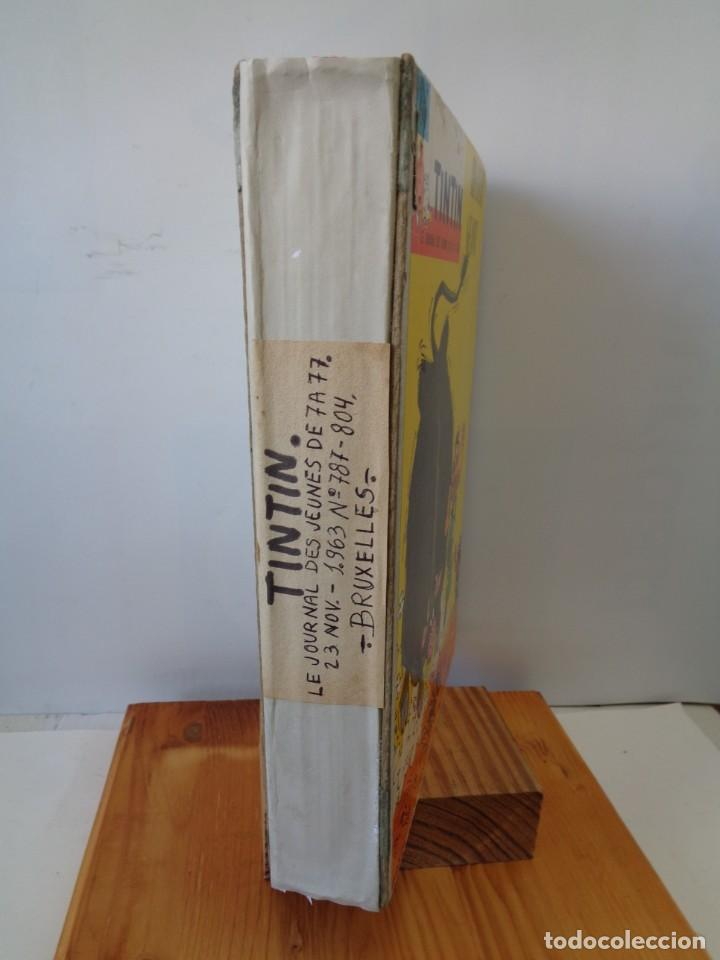 Tebeos: ¡¡ TINTIN, RECUEIL GEANT. LE JOURNAL DES JEUNES DE 7 A 77 ANS. 1963 -64. !! - Foto 3 - 238396015