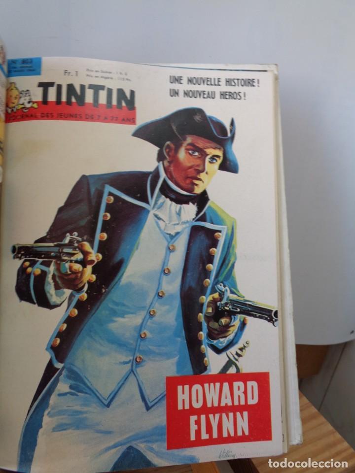 Tebeos: ¡¡ TINTIN, RECUEIL GEANT. LE JOURNAL DES JEUNES DE 7 A 77 ANS. 1963 -64. !! - Foto 9 - 238396015